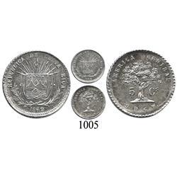 Costa Rica, 5 centavos, 1869.