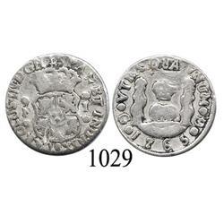 Guatemala City, Guatemala, pillar 1 real, Charles III, 1765P.