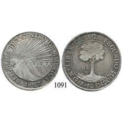 Guatemala, Central American Republic, 8 reales, 1847A.