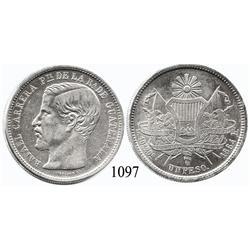 Guatemala City, Guatemala, peso, 1864R.