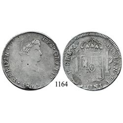 Durango, Mexico (War for Independence), bust 8 reales, Ferdinand VII, 1816MZ.
