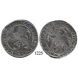 "Zeeland, United Netherlands, ""lion"" daalder, 1637."