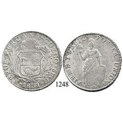 Cuzco, Peru, 8 reales, 1831G.
