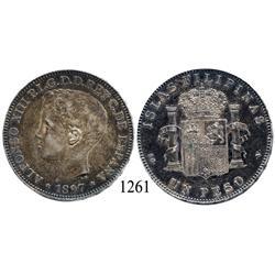 Philippines, peso, 1897-SGV.