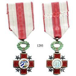 Cuba, decoration for the Order of the Honor and Merit of Cuba, 1909.