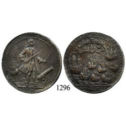 "Great Britain, bronze ""Admiral Vernon"" medal, 1739, Porto Bello (Panama)."