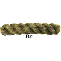 Half-foot section of rope in perfect condition.