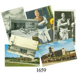 Lot of 7 different postcards pertaining to McKee's Museum of Sunken Treasure.