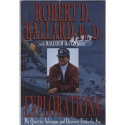 Ballard, Robert. Explorations (1995, HB/DJ, VF).