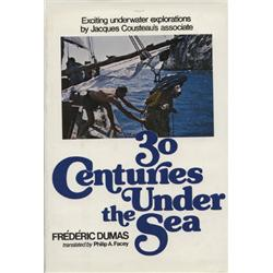 Dumas, Frédéric. 30 Centuries Under the Sea (1976, HB/DJ, VF).