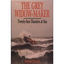 Edwards, Bernard. The Grey Widow-Maker (1990, HB/DJ, VF).