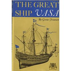Franszen, Greta. The Great Ship Vasa (1971, HB/DJ, VF).