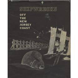 Krotee, Walter and Richard. Shipwrecks of the New Jersey Coast (1966, HB/DJ, VG).