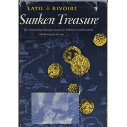 Latil, Pierre de and Jean Rivoire. Sunken Treasure (1962 English translation, HB/DJ, VG).