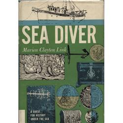 Link, Marion. Sea Diver (1961 2nd printing, HB/DJ, F).
