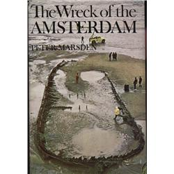 Marsden, Peter. The Wreck of the Amsterdam (1974, HB/DJ, VG).