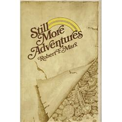 Marx, Robert. Still More Adventures (1976, HB/DJ, VF).