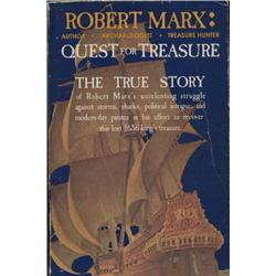 Marx, Robert. Quest for Treasure (1982, SC, F), inscribed by author.