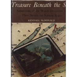 McDonald, Kendall. Treasure Beneath the Sea (1974, HB/DJ, VF).