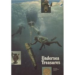 National Geographic Society. Undersea Treasures (1974, HB/DJ, VG).