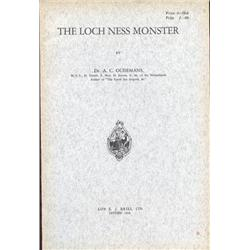Oudemans, Dr. A.C. The Loch Ness Monster (1934, SC, F, uncut pages).