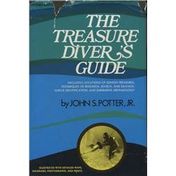 Potter, John. The Treasure Divers Guide (1972 revised ed, HB/DJ, VF).