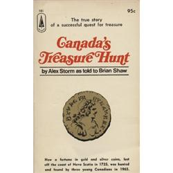 Storm, Alex. Canada's Treasure Hunt (1967, SC, VF), inscribed by the author.