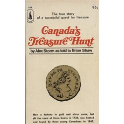 Storm, Alex. Canada's Treasure Hunt (1967, SC, VF).