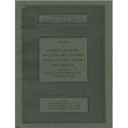 Sotheby & Co. (London), Catalogue of Ancient, English, Scottish and Foreign Coins in Gold, Silver an