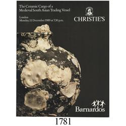 Christie's (London), The Ceramic Cargo of a Medieval South Asian Trading Vessel, December 11, 1989,