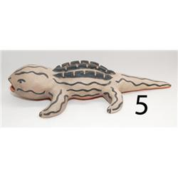 COCHITI POTTERY ALLIGATOR