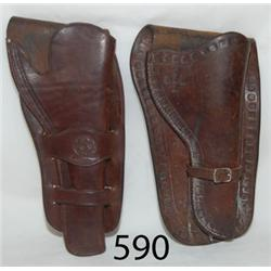 TWO HOLSTERS