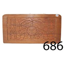 NORTHWEST COAST CARVED PLAQUE