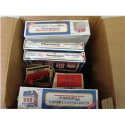 Box Lot of Assorted Train Accessories in Box