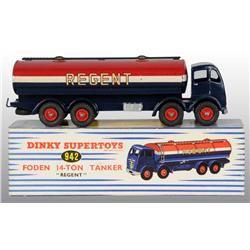 Dinky Super Toys Die-Cast No. 942 Regent Tanker.