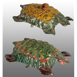 Lot of 2: Tin Turtle Toys.