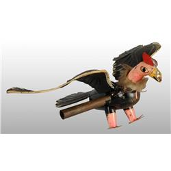 Early Tin Turkey Vulture Toy.