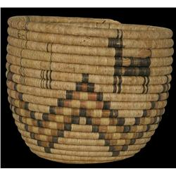 Hopi Coiled Pictorial Basket