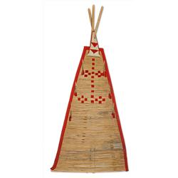 Blackfoot Tipi Backrest