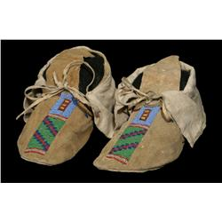Crow Men's Moccasins