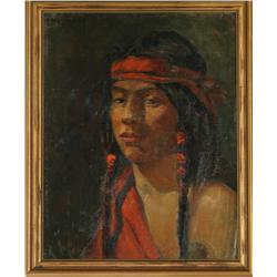 Arthur R. Best, oil on canvas/board