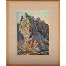 Merrill Mahaffey, oil on canvas