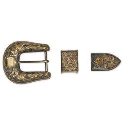 Edward H. Bohlin Belt Buckle Set