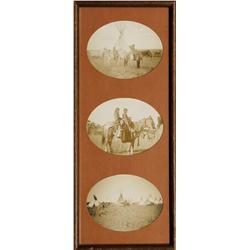 Three Antique Framed Photographs