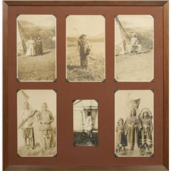 Six Antique Photographs