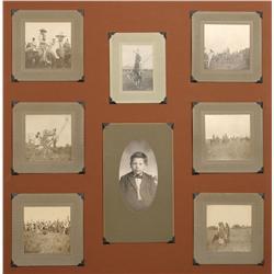 Eight Antique Photographs