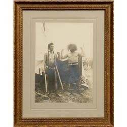 Three Antique Photographs