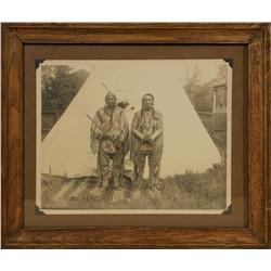 Photograph of Two Blackfee Indians