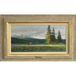 Robert Pummill, oil on canvas