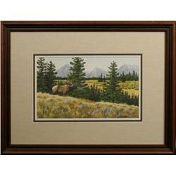 George Shumate, watercolor